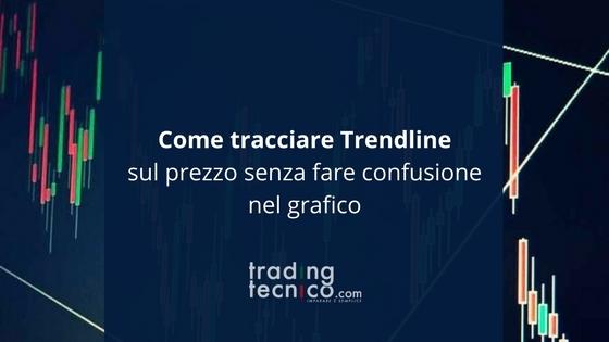 Tracciare Trendline sul prezzo