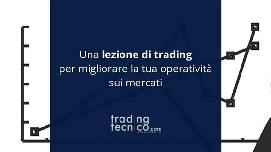 Lezione di trading