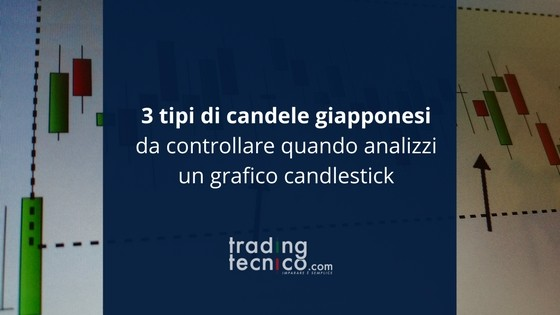 Tipi di candele giapponesi