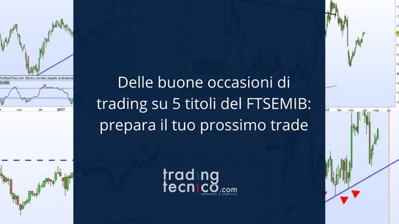 Occasioni di trading sul FTSEMIB